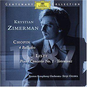 Chopin: 4 Ballades, Liszt: Piano Concerto No.1, Totentanz - Centenary Collection 1987