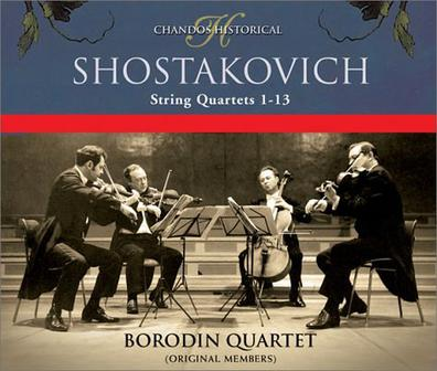 Shostakovich: String Quartets 1-13