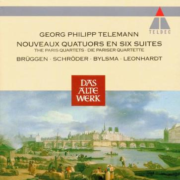 Telemann The Paris Quartets