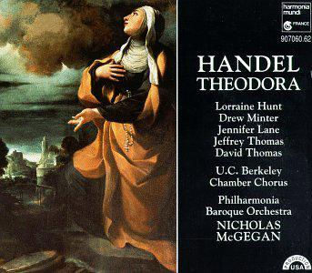 Handel - Theodora / Hunt, Minter, Lane, J. Thomas, D. Thomas; McGegan