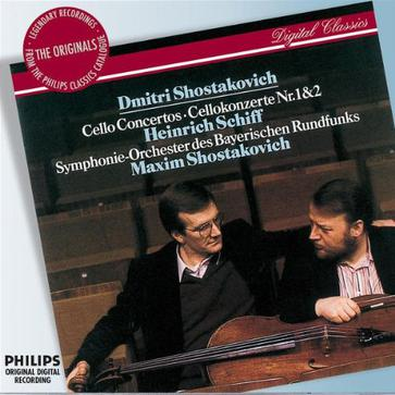 Dmitri Shostakovich/Cello Concertos No.1&2