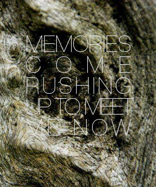 Inspirative - Memories Come Rushing Up To Meet Me Now