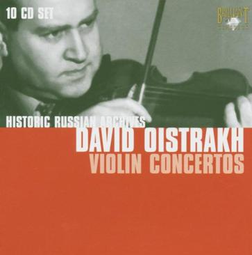 David Oistrakh: Violin Concertos - Russian Archives
