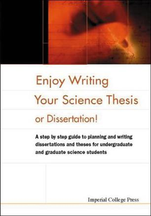 Ministry enjoy writing your science thesis or dissertation
