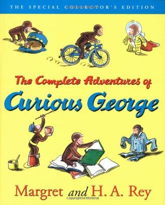 The Complete Adventures of Curious George 好奇猴乔治冒险全集