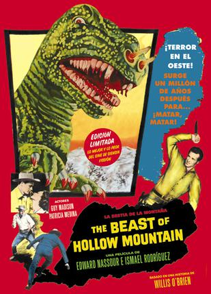 荒山大贼王 The Beast of Hollow Mountain 1956