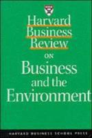 Harvard Business Review on Profiting from Green Business