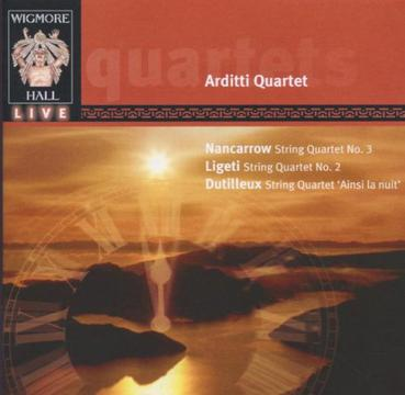 Nancarrow, Ligeti, Dutilleux: String Quartets