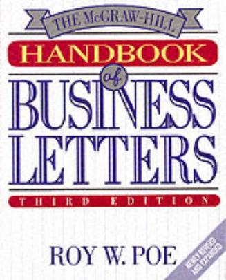 McGraw-Hill Handbook of Business Letters