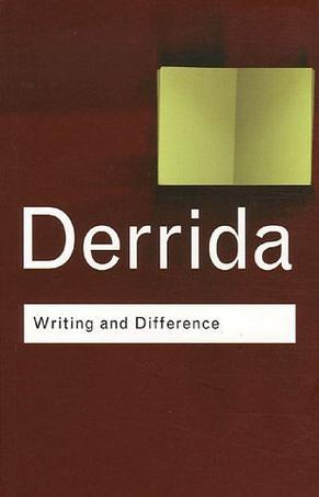 Writing and Difference (Hardcover)
