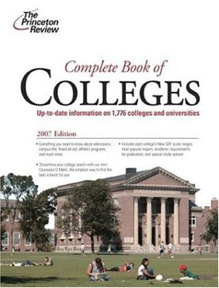 Complete Book of Colleges, 2007 Edition