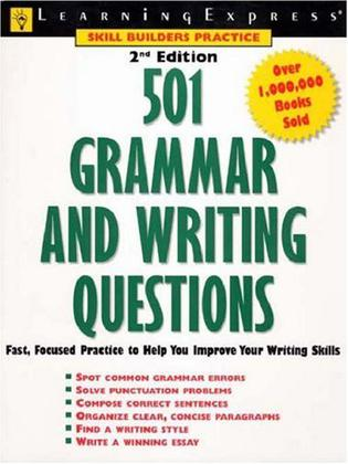 501 Grammar & Writing Questions 2nd Edition