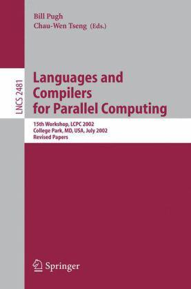 Languages and Compilers for Parallel Computing 并行处理用语言与编译器/会议文集