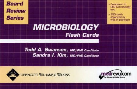 Microbiology Flash Cards (Board Review Series)