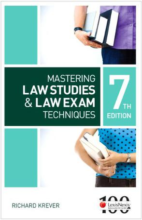 mastering law studies and law exam techniques pdf