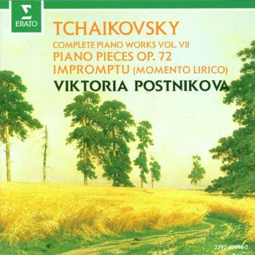 Tchaikovsky: Complete Piano Works Vol.7 Piano Pieces op. 72, Impromptu