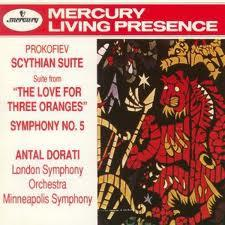 "PROKOFIEV:SCYTHIAN SUITE suite from ""THE LOVE FOR THREE ORANGES"", SYMPHONY NO.5"