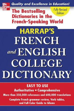 Harrap's French and English College Dictionary