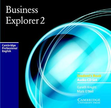 Business Explorer 2 Audio CD