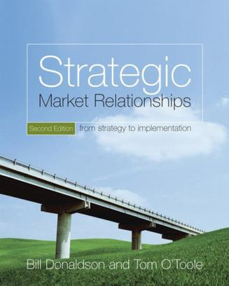 战略市场关系 Strategic Market Relationships