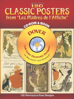 "120 Classic Posters from ""Les Maitres de l'Affiche"" CD-ROM and Book"