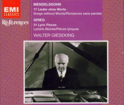 Mendelssohn: Songs Without Words- selections / Grieg: Lyric Pieces- selections
