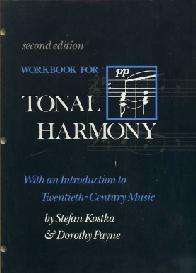 Workbook for Tonal Harmony (豆瓣)