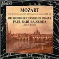 Wolfgang Amadeus Mozart: Piano Concerto No. 23 in A major K488 / Piano Concerto No. 25 in C major K503 - Paul Badura-Skoda / Prague Chamber Orchestra