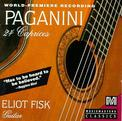 Paganini: 24 Caprices arranged for Guitar