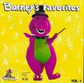 Barney's Favorites Vol. 1