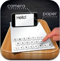 Paper Keyboard - Fast typing and playing with an alternative printed projector keypad (iPhone / iPad)