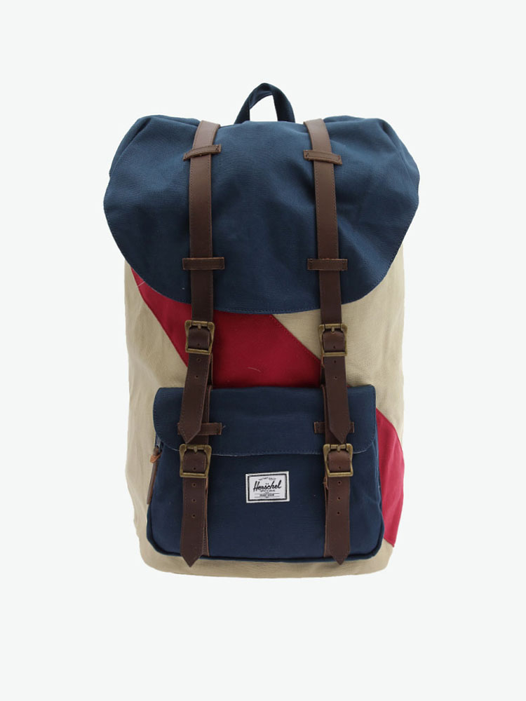 Herschel Supply Little America 撞色双肩包的图片