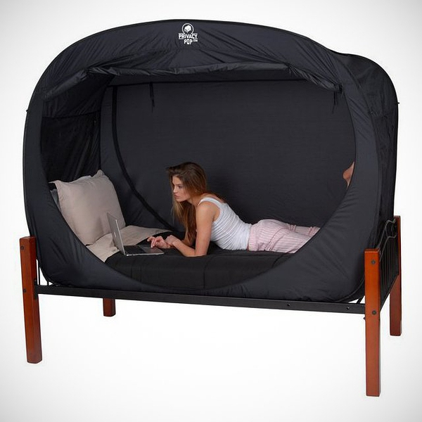 Privacy Pop Bed Tent的图片