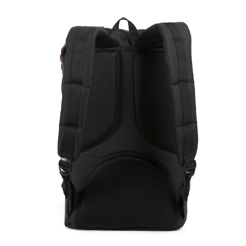 Herschel Supply Co. Little America Rubber, Black, One Size的图片