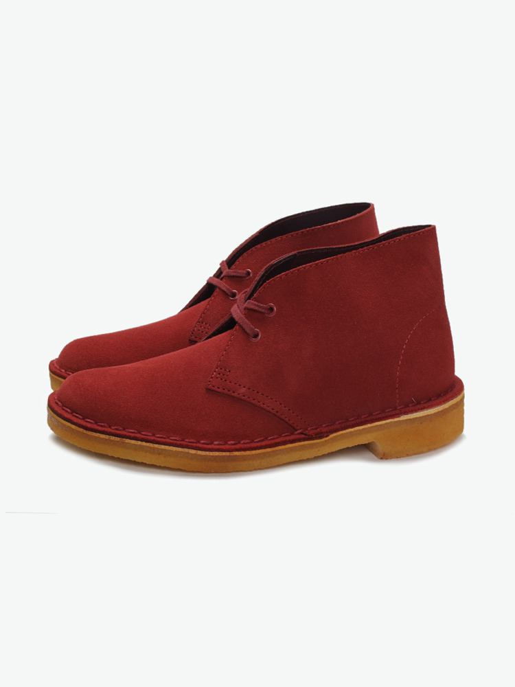 Clarks ORIGINALS Cherry Suede Desert Boot沙漠靴的图片