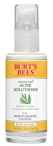 Burt's Bees Natural Acne Solutions Daily Moisturizing Lotion, 2 Ounces的图片