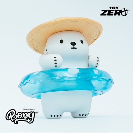 【Bang】预售 Toy ZeroPlus BACBAC - HELLO SUMMER 白白北极熊的图片