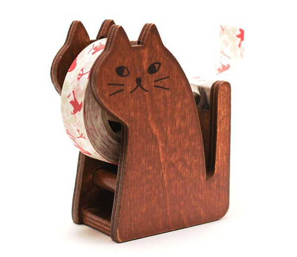 Cat Washi Tape Dispenser by Maigocute的图片