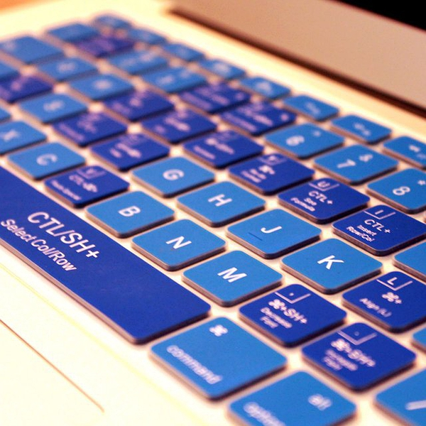 Excel Macbook Keyboard Cover的图片