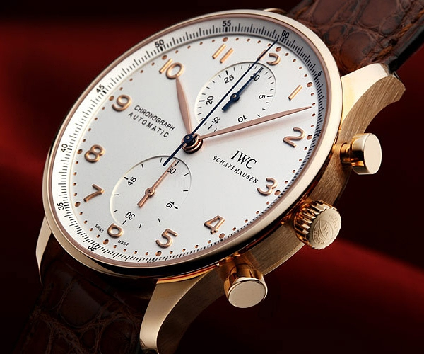 IWC Watch Portuguese Rose Gold Chronograph IW371480的图片