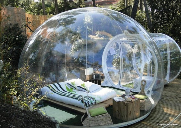 Sleep In A Bubble 玻璃泡泡房的图片