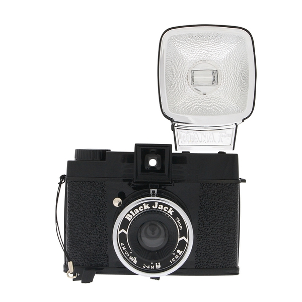 lomo相机 中国总代理Diana F+ Flash Black Jack限量版支持拍立得的图片