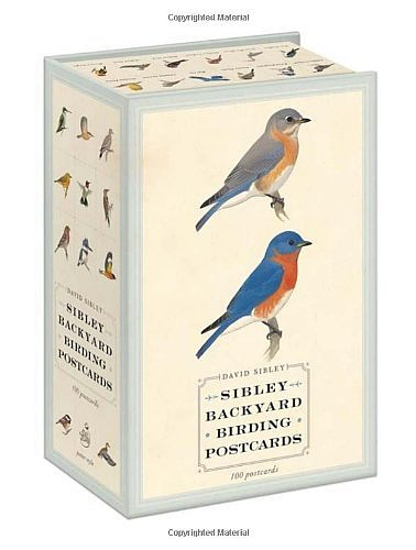 Sibley Backyard Birding Postcards: 100 Postcards [卡片]的图片