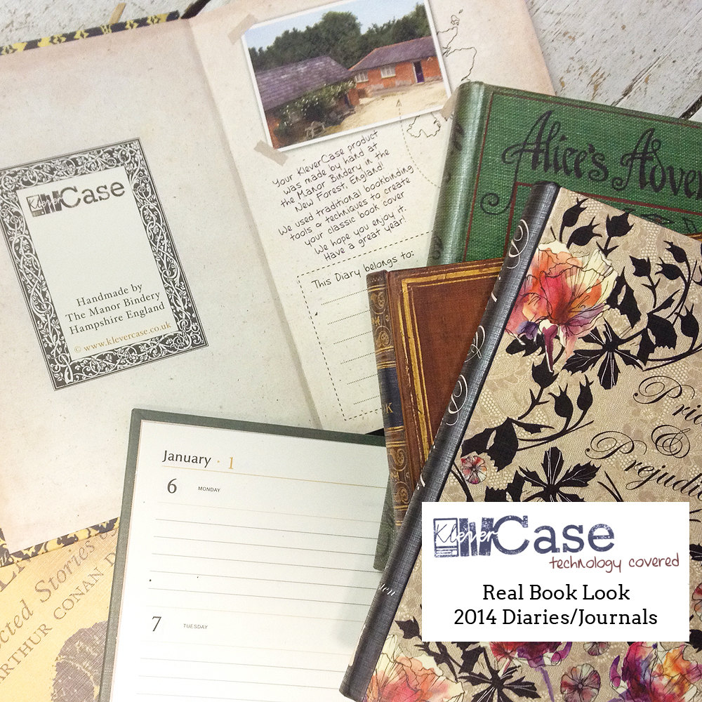 Journal and Notebook Vintage Book Look Range Handmade in England by KleverCase的图片