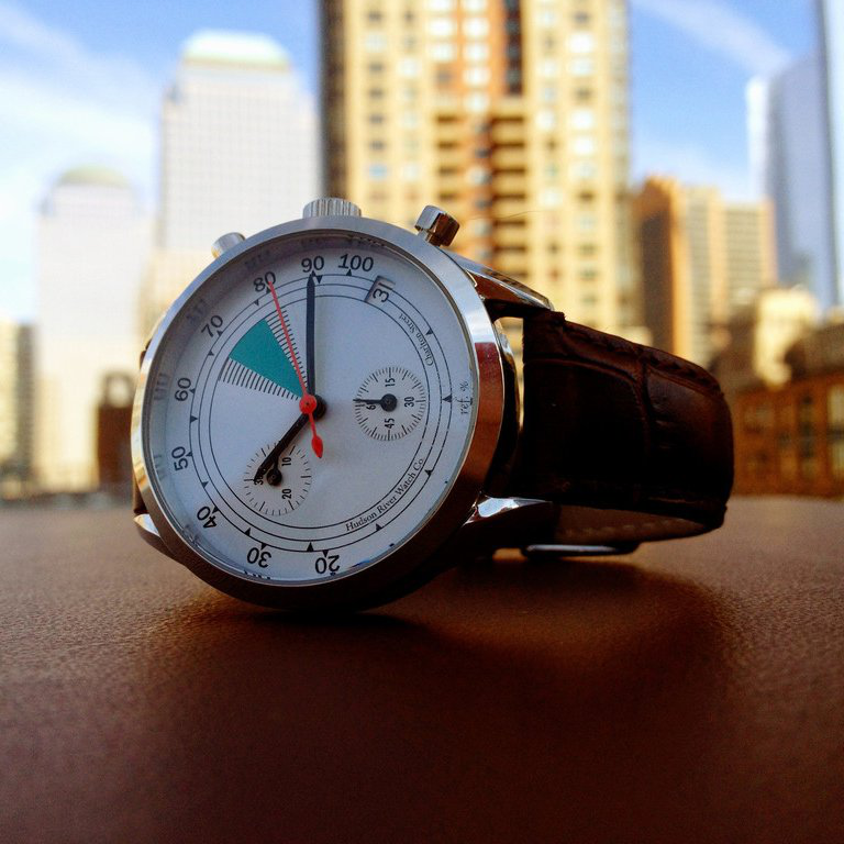 Charlton Street Watch by Hudson River Watch Co. - $345的图片