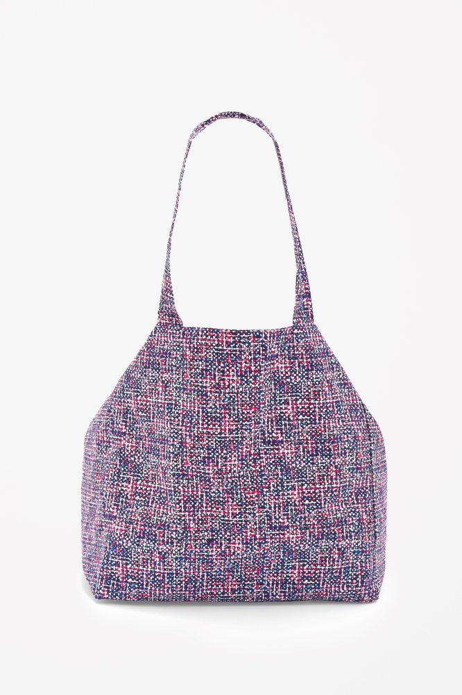 Printed beach bag的图片