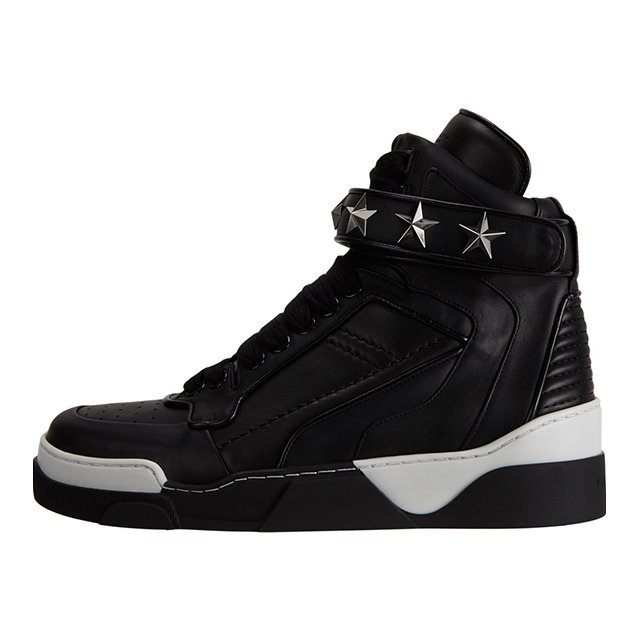 High-top Star Ankle-strap Sneakers by Givenchy - $875的图片