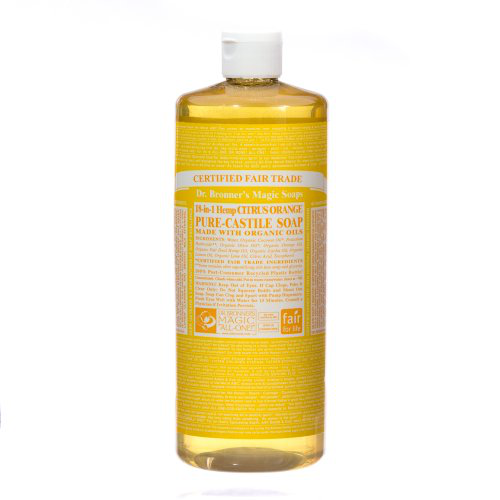 Dr. Bronners - Magic Pure-Castile Soap Organic Citrus Orange - 32 oz.的图片