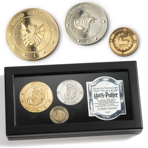 Harry Potter Gringotts Bank Coin Collection的图片
