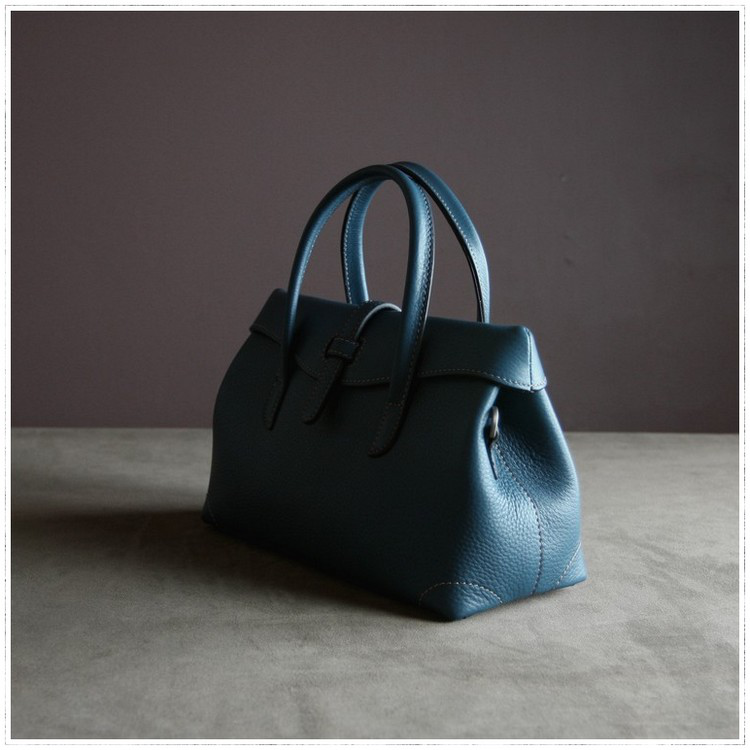 「无印良品-mini carry 225#」牛皮迷你手提包单肩斜挎真皮女包